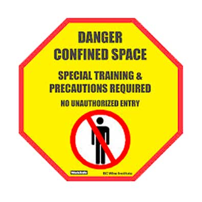 Confined space safety training at AbCB First Aid in Nanaimo, BC